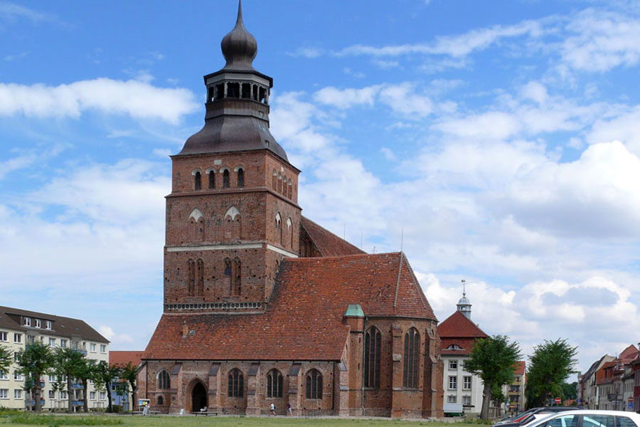 Kirche Malchin (Foto: F. Ruchhöft)
