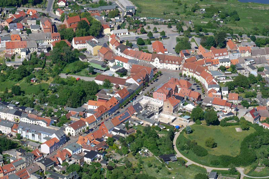 Luftbildaufnahme von Tessin, (Foto: F. Ruchhöft)