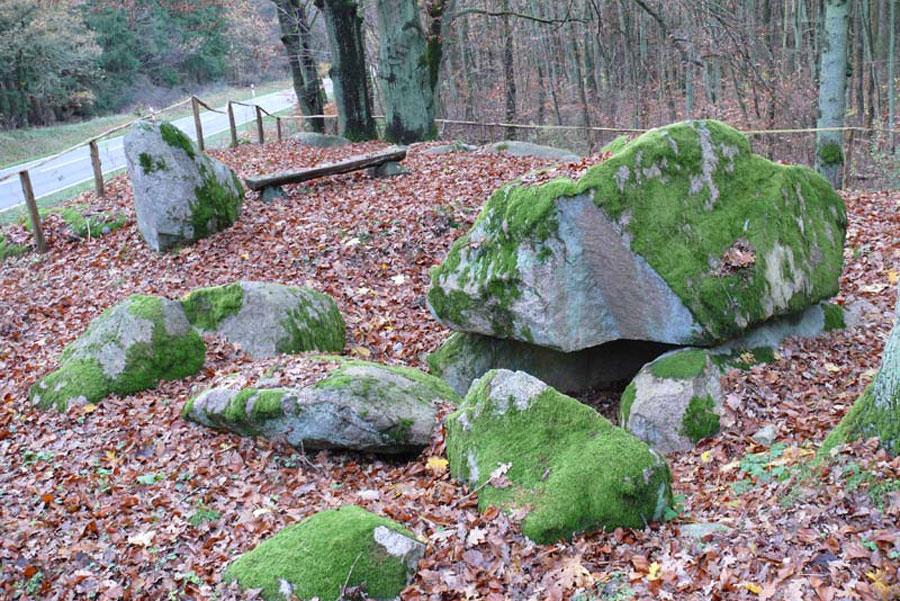 Urdolmen mit Hünenbett (Foto: F. Ruchhöft)