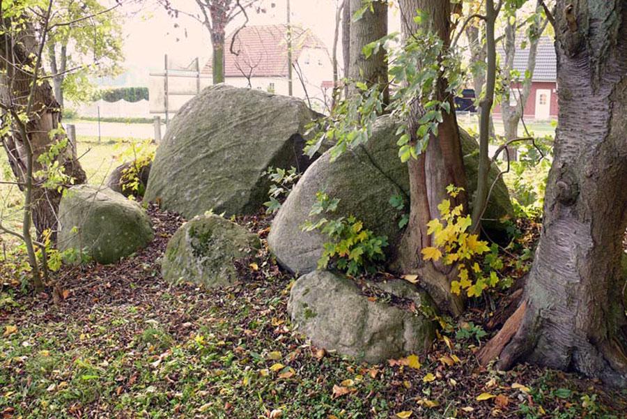 Großsteingrab in Vilz (Foto: F. Ruchhöft)