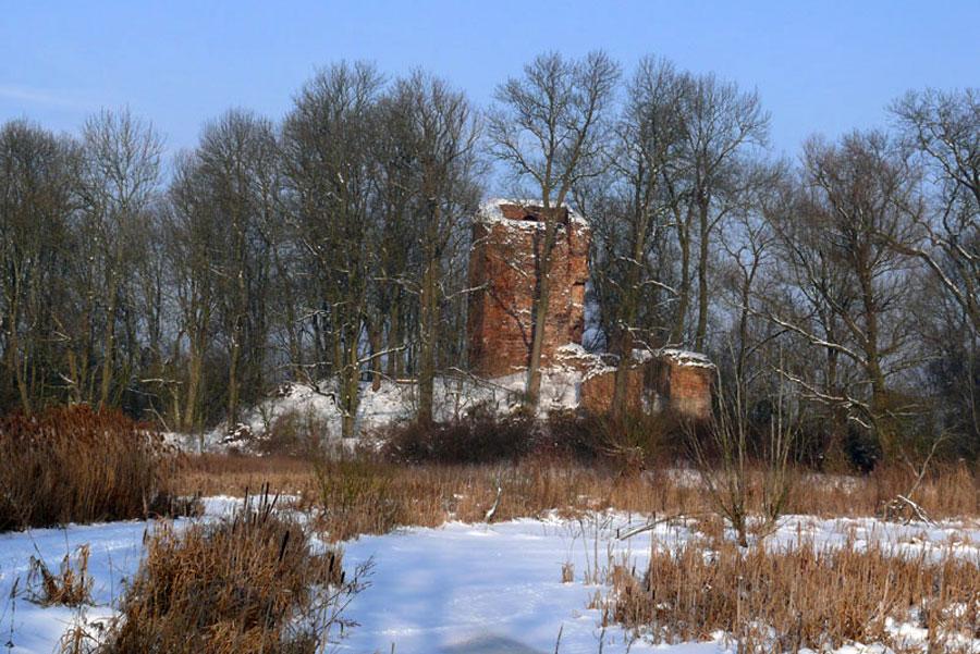 Burgruine Stuer-Vorwerk (Foto: F. Ruchhöft)