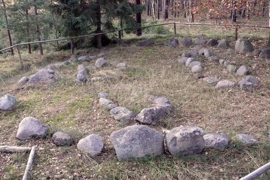 Bronzezeitliches Hügelgrab (Foto: F. Ruchhöft)
