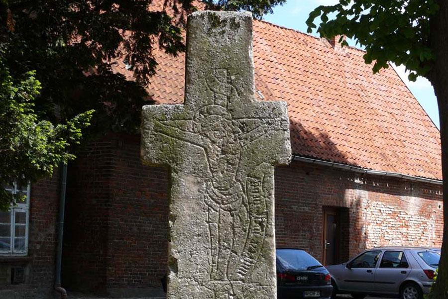 Sühnestein in Schönberg (Foto: F. Ruchhöft)