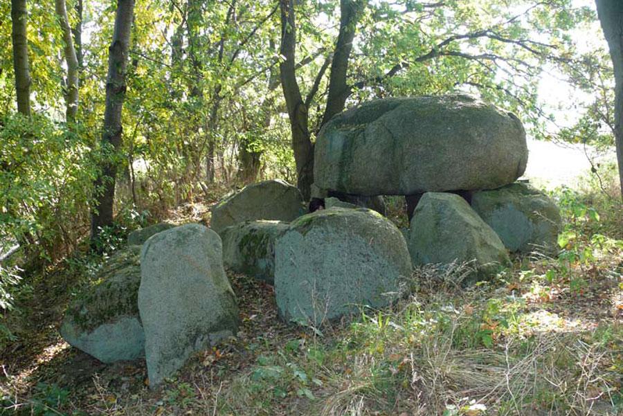 Großsteingrab von Lonvitz (Foto: F. Ruchhöft)
