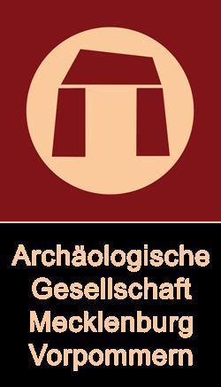 Archäologische Gesellschaft Mecklenburg und Vorpommern Logo