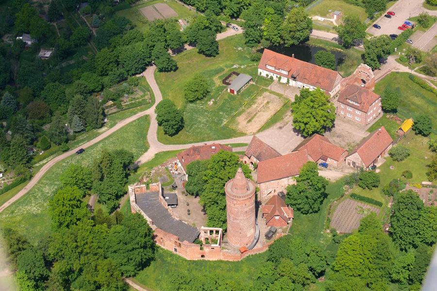Burgwall Grapenwerder Penzlin (Foto: F. Ruchhöft)